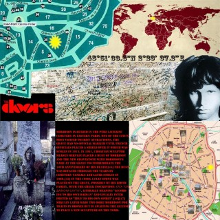 Map O' The Day #33 – Jim Morrison's Grave