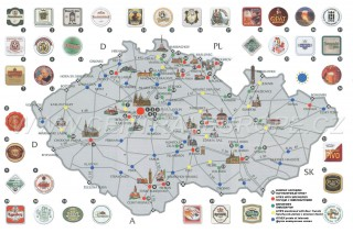 Map O' The Day #29 – Czech Beer Map