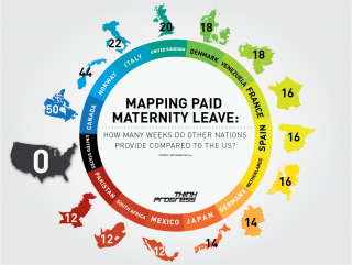 Comparing Paid Maternity Leave